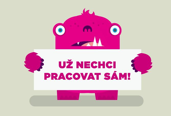 ilustrace a vizuál pro Cowo Brno