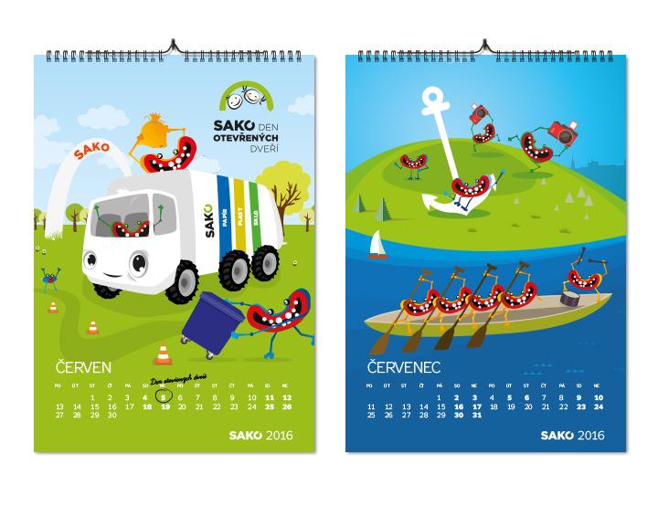 Kalendář 2016 Sako