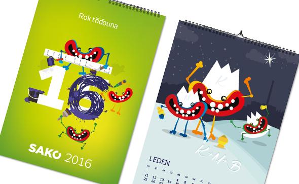 ilustrace kalendáře