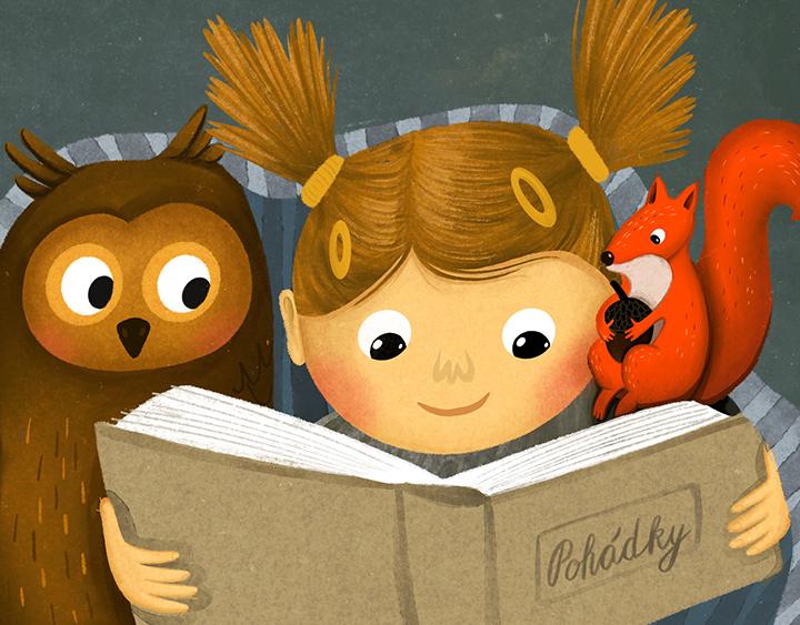 Ilustrace pro deti
